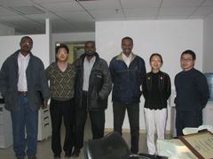 Three trainees from Sudan started a 10-days Gas Engine Power Plant Training on December 3,2007 in Jinan, China. During the training, they all got lots of precious knowledge and experices. At the end, they successfuly got certifications of Gas Engine Power Plant.